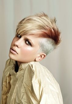 Women's Short Mohawk Hair Styles (7)