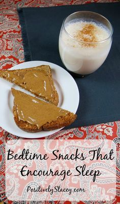 Healthy Late Night Snacks, Healthy Bedtime Snacks, Easy Snacks, Healthy Breakfasts, Healthy Snacks Before Bed, Filling Snacks, Sport Nutrition, Child Nutrition, Snacks Saludables
