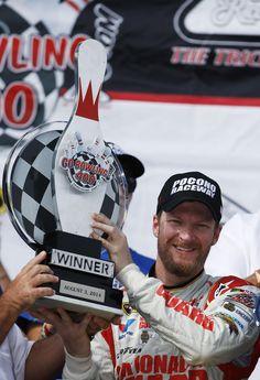 Earnhardt win completes season sweep at Pocono - Yahoo News