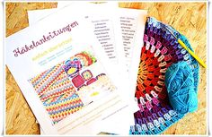 Übersetzungshilfe für Häkelanleitungen Deutsch/Englisch. / Translation help for crochet pattern english/german. Free PDF download