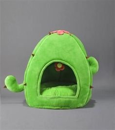 This is a unique and fun dog and cat bed design in a Cactus shape. Soft and cuddly faux fur / micro plush fabric material. Hedgehog Cage, Hedgehog Pet, Puppy Diapers, Pet Guinea Pigs, Pet Gear, Dog Furniture, Dog Boutique, Cat Room, Diy Stuffed Animals