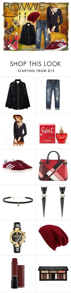 """""""perfectly fall"""" by hannah-raes on Polyvore featuring mode, See by Chloé, Hollister Co., Lolita Lempicka, adidas, Burberry, Carbon & Hyde, Alexis Bittar, Versace en Halogen"""