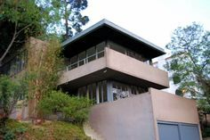 Silver Lake Architecture Koblick House, Richard Neutra 1937 Added February 3, 2010 21 of 22 Situated on a steep slope on a hill on the southeast side above the lake at 1816-1818 Silverwood Terrace, this beautiful duplex designed by Richard Neutra has commanding views of the mountains and lake. The original structure cost $8,500 to build in 1937. By: Michael Locke