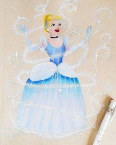 Cinderella, Disney Princess, Disney Characters, Art, Art Background, Kunst, Performing Arts, Disney Princesses, Disney Princes