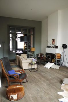 House CvW_apartment by Hilde Vets Architect