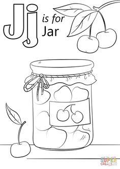 Letter J Is For Jar