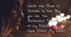 Sweet and romantic good night messages for him. Send your boyfriend, husband or soulmate a goodnight message to let him know that you are dreaming of him. Good Night Poems, Good Night Hug, Romantic Good Night Messages, Good Night Love Quotes, Good Night I Love You, Cute Romantic Quotes, Love Me Quotes, Night Qoutes, Romantic Ideas
