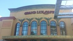 Grand Lux Cafe at Town Center Mall in Boca Raton Florida with Carolyn Boinis Boca Raton real estate broker www.CarolynBoinis.com