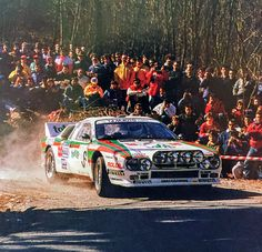 Lancia Rally 037 Gianfranco Cunico Rally 1000 Miglia 1987