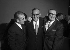Gene Krupa, Benny Goodman and Ziggy Elman