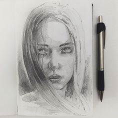 Charcoal and Pencil Portrait Drawings. By Ever Sanchez.