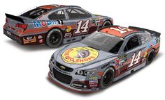 2015 TONY STEWART #14 BASS PRO SHOPS DARLINGTON THROWBACK SPECIAL
