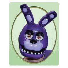 Five Nights at Freddy's Bonnie PVC Adult Mask - Rubies - Five Nights at Freddys - Costumes at Entertainment Earth