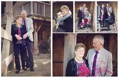 This lovely couple was married together for 40 years. Stil in love!