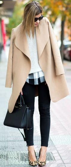 Camel Coat Outfit Ideas (18)