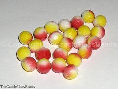 Czech Firepolished Beads 8mm 02010/95600