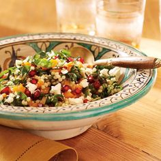 Pomegranate Guacamole—And 4 More Recipes Made With Pomegranate Seeds: Roasted Butternut Squash Salad with Pomegranate Vinaigrette http://www.prevention.com/food/healthy-recipes/easy-pomegranate-recipes?s=2&cid=NL_ROTD_1976626_01092015_PomSmashImg