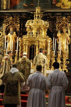 Missa pontificalis in Vyšší Brod