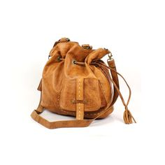 Leather Women Hand Bag  Tan by Bazarysh on Etsy