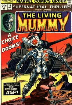 Supernatural Thrillers featuring The Living Mummy #10