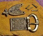 BELT BUCKLE AND BELT STRAP, Middle Ages