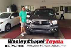 #HappyBirthday to Blake from Richard Jackson at Wesley Chapel Toyota!  https://deliverymaxx.com/DealerReviews.aspx?DealerCode=NHPF  #HappyBirthday #WesleyChapelToyota