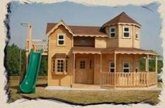 a 2 story play house - Google Search