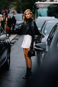 Looks Street Style, Urban Street Style, Street Style Summer, Casual Street Style, Street Style Women, Street Styles, French Street Fashion, Paris Fashion, Female Street Fashion