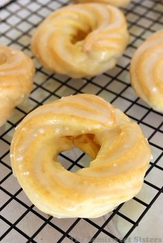 Oven Baked French Cruller Donuts-should be easy to veganize now that I know about aquafaba!
