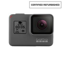 ✔️ This product is in manufacturer E-Commerce packing (see pictures). The product itself is identical to the one found in retail packaging & it is covered under full standard warranty. ✔️ Stunning 4K video and 12MP photos in Single, Burst and Time Lapse modes. ✔️ Durable by design, HERO5 Black is waterproof to 33ft (10m) without a housing.