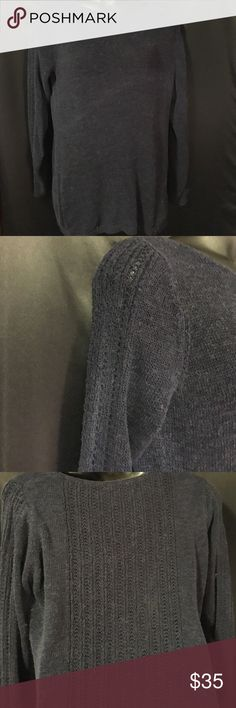 RACHEL ZOE Light Sweater In great condition. Too big for me now.73% cotton 27% Polyester Rachel Zoe Sweaters Crew & Scoop Necks
