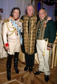 You can have Bill Clinton dressed like that at your party for $1 m!