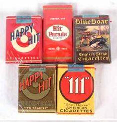 vintage cigarette labels - Google Search