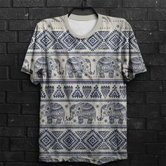 Camiseta Ethnic Elephant
