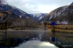 A morning soak. Experience the magic of Avalanche Ranch. http://www.heiditown.com/2016/03/08/experience-the-magic-of-avalanche-ranch/