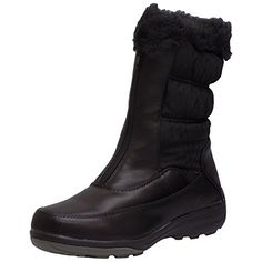 Wanderlust Womens Darcie Black Waterproof Winter Zip Up Boots 95 W Black *** This is an Amazon Affiliate link. Read more reviews of the product by visiting the link on the image.