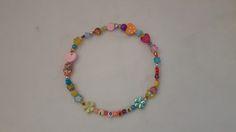 Hippieperlenkette für Mops & Co.