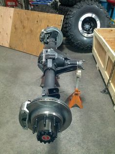 Jeep JKU Rubicon Frog 1 Build at Clayton Off Road Mfg.
