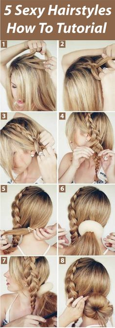 Who does not want to look sexy on the eyes of partner? Yes you can do with the new selection of 5 sexy hairstyles how to tutorial. Try these sexy hairstyles be the apple of an eye!