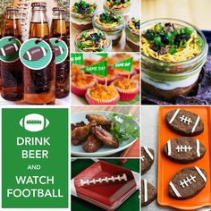 Cute for Stuper Bowl (the Pack isn't playing so it's stuper)  Throw the Ultimate 2012 Super Bowl Party! on http://pizzazzerie.com