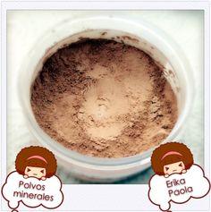 Erika Paola: Recetas de cosmética casera - Make up. Polvos Minerales.
