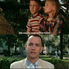 Jenny was so fucked up! She could have had a happy life by staying with Forrest but she chose not.  FORREST GUMP