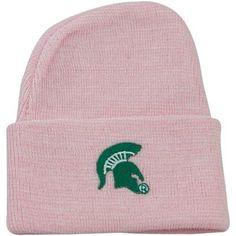 Michigan State Spartans Newborn Light Pink Knit Beanie $9