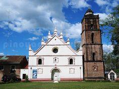 Nueva Vizcaya - San Vicente de Ferrer Church in Dupax del Sur via http://pinoyadventurista.com
