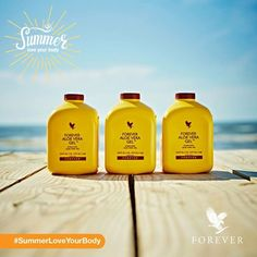 #SummerLoveYourBody by eating several different fruits and vegetables throughout the next few months. You could also try starting your day with Forever Aloe Vera Gel – it's rich in nutrients, great for digestion and will leave you with a glowing complexion!