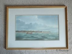 Scottish Coastal Landscape - Off Ardnamurchan Point - Original Watercolour Painting By Guy Todd