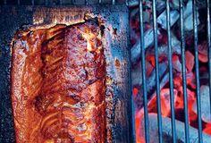 Cedar Plank–Grilled Salmon