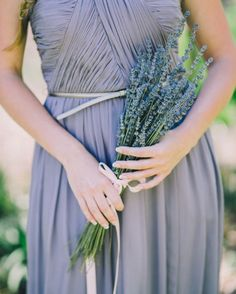 Vestidos para damas de boda en color lavanda - Rachel May