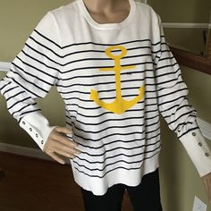 Awesome nautical sweater New Greatest look 100% Cotton Nautica Sweaters Crew & Scoop Necks