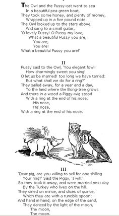 My favourite poem as a kid.